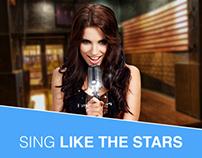 Karaoke Video App - redesign