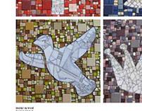 Belmont Foursquare mosaic