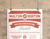 Folk Music Festival Branding