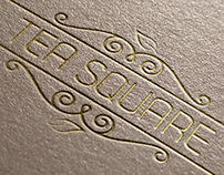 Tea Square Logo Design