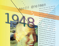 April Greiman - Accordion Fold Book