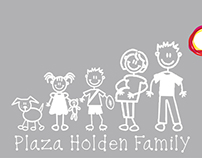 Plaza Holden - Car Decals