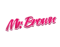 MR.BROWN ICE CREAM LOGO DESIGN