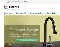 Moen.com eCommerce Site