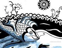 Simon le Saumon - Jeunesse Illustration