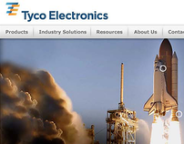 Tyco Electronics Site Refresh