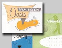 Palm Desert Oasis Calendar