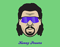 Kenny Powers of Eastbound & Down