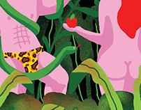 ''The Garden of Eden'' luggage design proposal