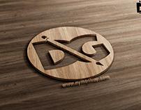 Wood 3D PSD Logo Mockups