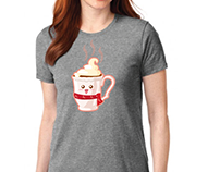 Shirt design for TJ Dance winter production.