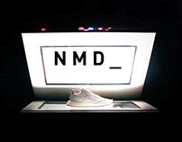 "Adidas Originals NMD R2 ""The Single Endless Post"""