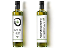 Biola University Olive Oil Label 02