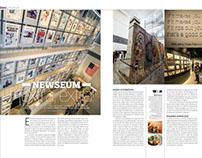 BLEU&BLANC / NEWSEUM WASHINGTON / artículo y fotografía