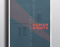 Human Rights Poster Series | February 2014