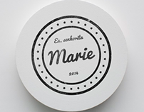 Marie   Logo e identidade visual