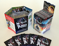 Newark Bears Pocket Schedule and Holder