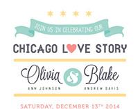 Chicago Themed Wedding