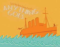Anything Goes Musical Poster