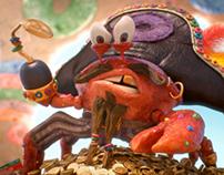"Froot Loops ""Carl the King Crab"""