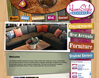 Homestyle Galleries Website