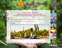 Joyful Hearts Yoga Website Design