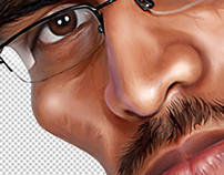 A Caricature work for www.aaravam.in