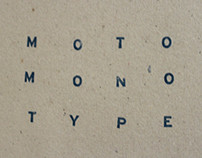 MOTO MONO TYPE