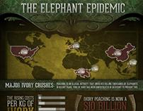 """""""The Elephant Epidemic"""" Infographic"""