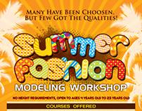 Top Model Philippines Summer Modeling Workshop Poster