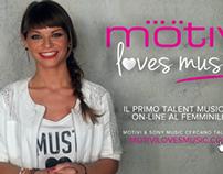 Motivi Loves Music || Motion Graphics