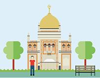 Religion in Singapore Infographics