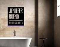 Identidade Visual Fotógrafa Jeniffer Bueno