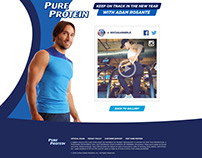 Pure Protein - UGC Promotion Website