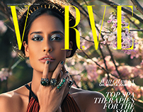 Lisa Haydon for Verve, March 2014