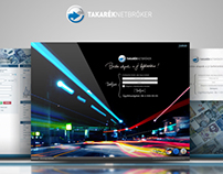 TakarékNetBróker webdesign