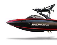 Supra Launch 242: inboard ski boat