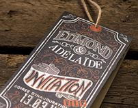 Edmond & Adélaïde - Vintage Opening Card