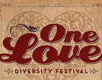 One Love Diversity Festival Poster