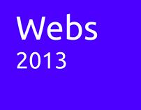 Webs 2013