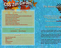Bonifol Design Works - CSS Zen Garden Website Project