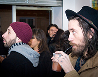 Vernissage @ Welcome - Liam Sparkes & Danny Fox