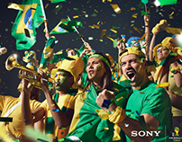 Finn Taylor shoots One Stadium World Cup for Sony