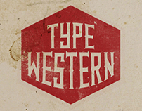 Type Western Font