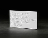 No Ink Business Card