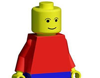 Lego Person Revit Family