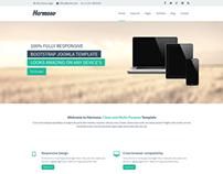 Hermoso - Multipurpose Responsive Joomla Template