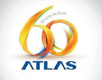 Selo Atlas 60 anos