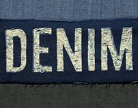 Denim Typography