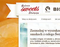Sweets shop (concept)
